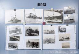 """umfangreiches Fotokonvolut, 4 Hängeordner """"Dt. Torpedoboote 1. + 2. WK"""", """"Dt. ..."""