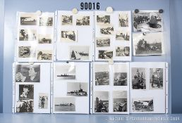 """umfangreiches Fotokonvolut, 3 Hängeordner """"Spionage"""", """"Sammlung Sewastopol"""" und """"Kräder, ..."""