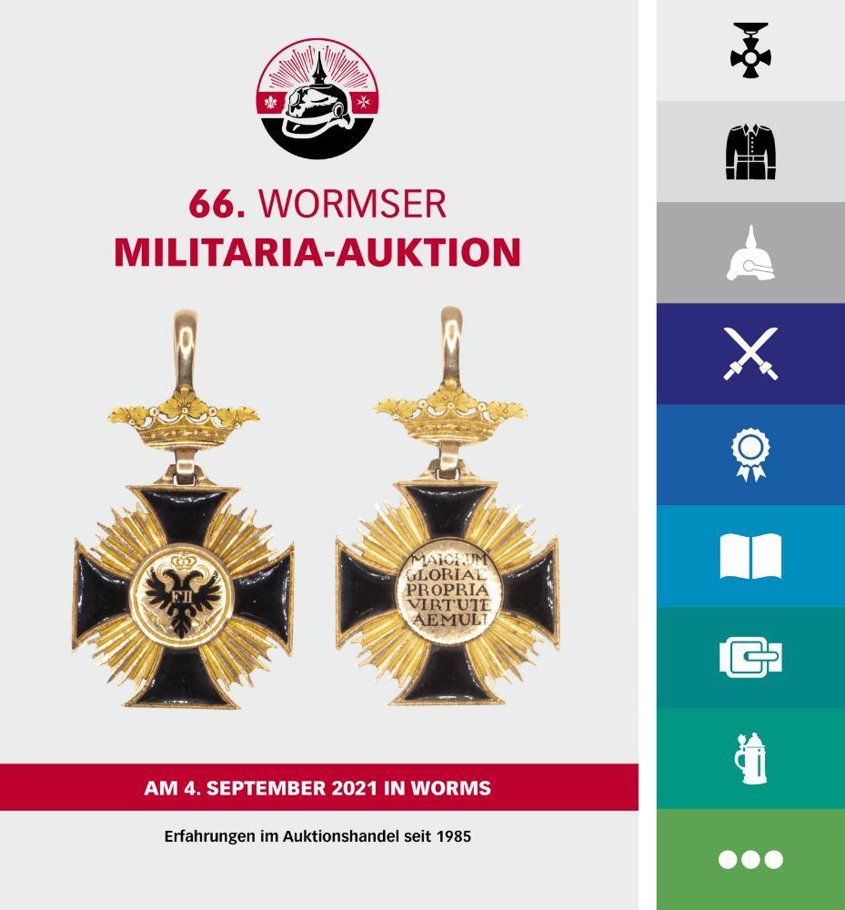 66. Wormser Militaria Auktion