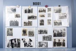 """umfangreiches Fotokonvolut, 2 Hängeordner """"Luftwaffe Ritterkreuzträger Propagandafotos"""", ..."""