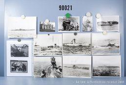"""umfangreiches Fotokonvolut, 1 Hängeordner """"U-Boote deutsche Kriegsmarine U1-U861"""", ..."""