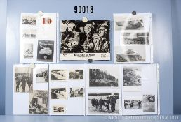 """umfangreiches Fotokonvolut, 4 Hängeordner """"Arbeitsdienst NSDAP + Führer"""", ..."""