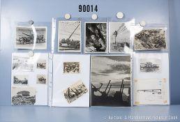 "umfangreiches Fotokonvolut, 5 Hängeordner ""Pioniere"", ""Funker"", Geschütze"", ""Artillerie"" ..."