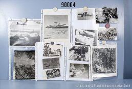 """umfangreiches Fotokonvolut, 2 Hängeordner """"Luftaufnahmen zerstörte Städte"""" und """"Dresden ..."""
