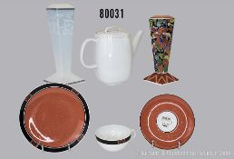 "Konv. Rosenthal Porzellan, dabei Teegedeck Nr. 2, studio line ""Tea Collectors Essential ..."