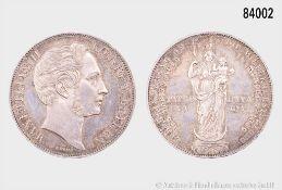 Bayern, Maximilian II. Joseph (1848-1864), Mariengulden/Doppelgulden 1855, 21,14 g, 36 ...