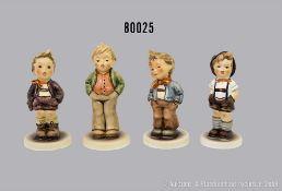 "Konv. 4 Goebel Porzellan Hummel Figuren, dabei 848 ""Erster Tenor"", Club 2005/2006, 630 ..."