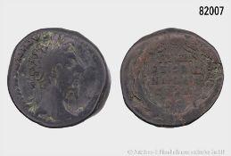 Römische Kaiserzeit, Marc Aurel (138-161), Sesterz, 171, Rom, Rs. PRIMI DECENNALES / COS ...
