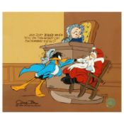 """""""Santa on Trial"""" by Chuck Jones (1912-2002). Limited Edition Animation Cel with"""