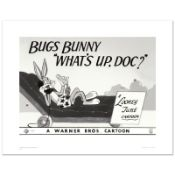 """""""What's Up Doc, Bugs Bunny"""" Limited Edition Giclee from Warner Bros., Numbered w"""