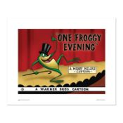 """""""One Froggy Evening"""" Numbered Limited Edition Giclee from Warner Bros. with Cert"""
