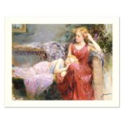 """Pino (1939-2010) """"A Mother's Love"""" Limited Edition Giclee. Numbered and Hand Sig"""