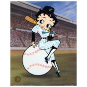 """""""Betty on Deck, Marlins"""" Limited Edition Sericel from King Features Syndicate, I"""