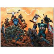 """Marvel Comics """"Ultimate Comics: Avengers #1"""" Numbered Limited Edition Giclee on"""