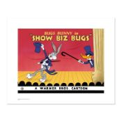 """""""Show Biz Bugs"""" Limited Edition Giclee from Warner Bros., Numbered with Hologram"""