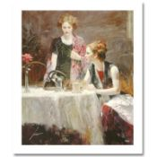 """Pino (1939-2010) """"After Dinner"""" Limited Edition Giclee. Numbered and Hand Signed"""