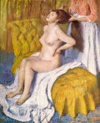 Edgar Degas - The Body Care