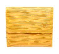 Louis Vuitton Yellow Elise Wallet