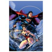 """DC Comics, """"Justice League (The New 52) #14"""" Numbered Limited Edition Giclee on"""