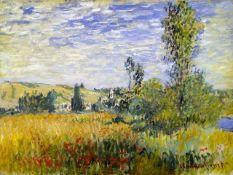 Claude Monet - Vetheuil