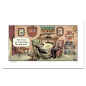 """Bizarro! """"Sign Hunter"""" Numbered Limited Edition Hand Signed by creator Dan Pirar"""