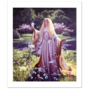 """""""The Gift Of Galadriel"""" Limited Edition Giclee on Canvas by Greg Hildebrandt. Nu"""
