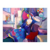 """Isaac Maimon, """"My Favorite Place"""" Limited Edition Serigraph, Numbered and Hand S"""