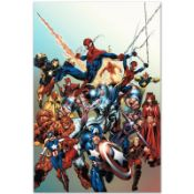"""Marvel Comics """"Last Hero Standing #1"""" Numbered Limited Edition Giclee on Canvas"""