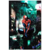"""Marvel Comics """"Timestorm"""" Numbered Limited Edition Giclee on Canvas by Christoph"""
