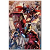 """Marvel Comics """"Avengers #12.1"""" Extremely Numbered Limited Edition Giclee on Canv"""
