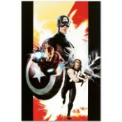"""Marvel Comics """"Ultimates #1"""" Numbered Limited Edition Giclee on Canvas by Kaare"""