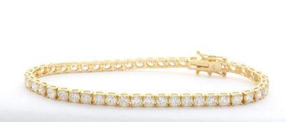 7.0 ctw Diamond Tennis Bracelet