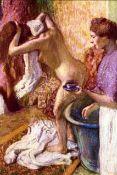 Edgar Degas - Woman Washing Hair
