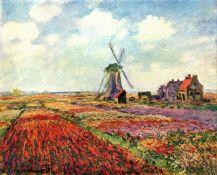 Claude Monet - Tulips of Holland