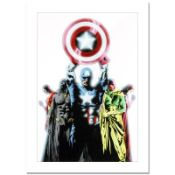 """Marvel Comics, """"Avengers #491"""" Numbered Limited Edition Canvas by Jae Lee with C"""