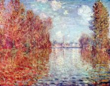 Claude Monet - Autumn in Argenteuil