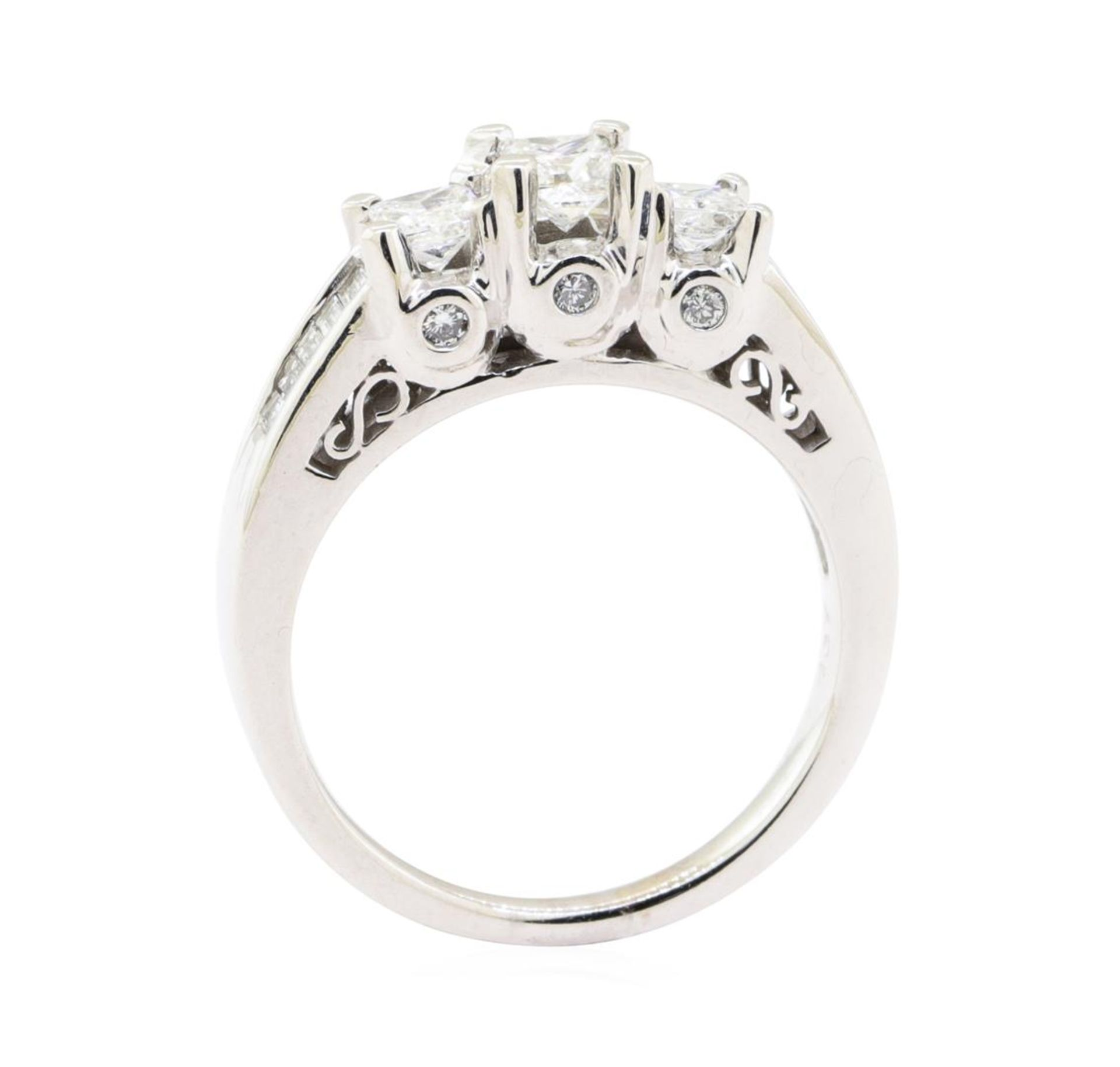 1.00 ctw Diamond Ring - 14KT White Gold - Image 4 of 5