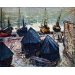 Claude Monet - The Boats