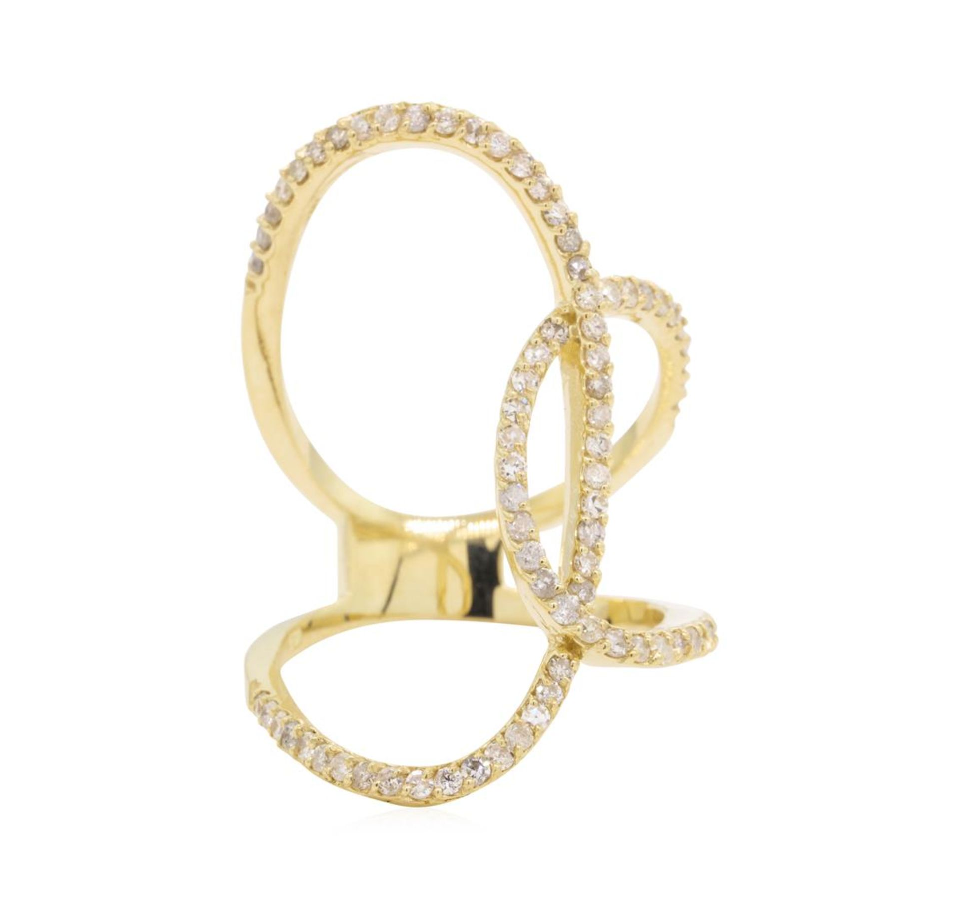 0.75 ctw Diamond Ring - 14KT Yellow Gold - Image 4 of 5