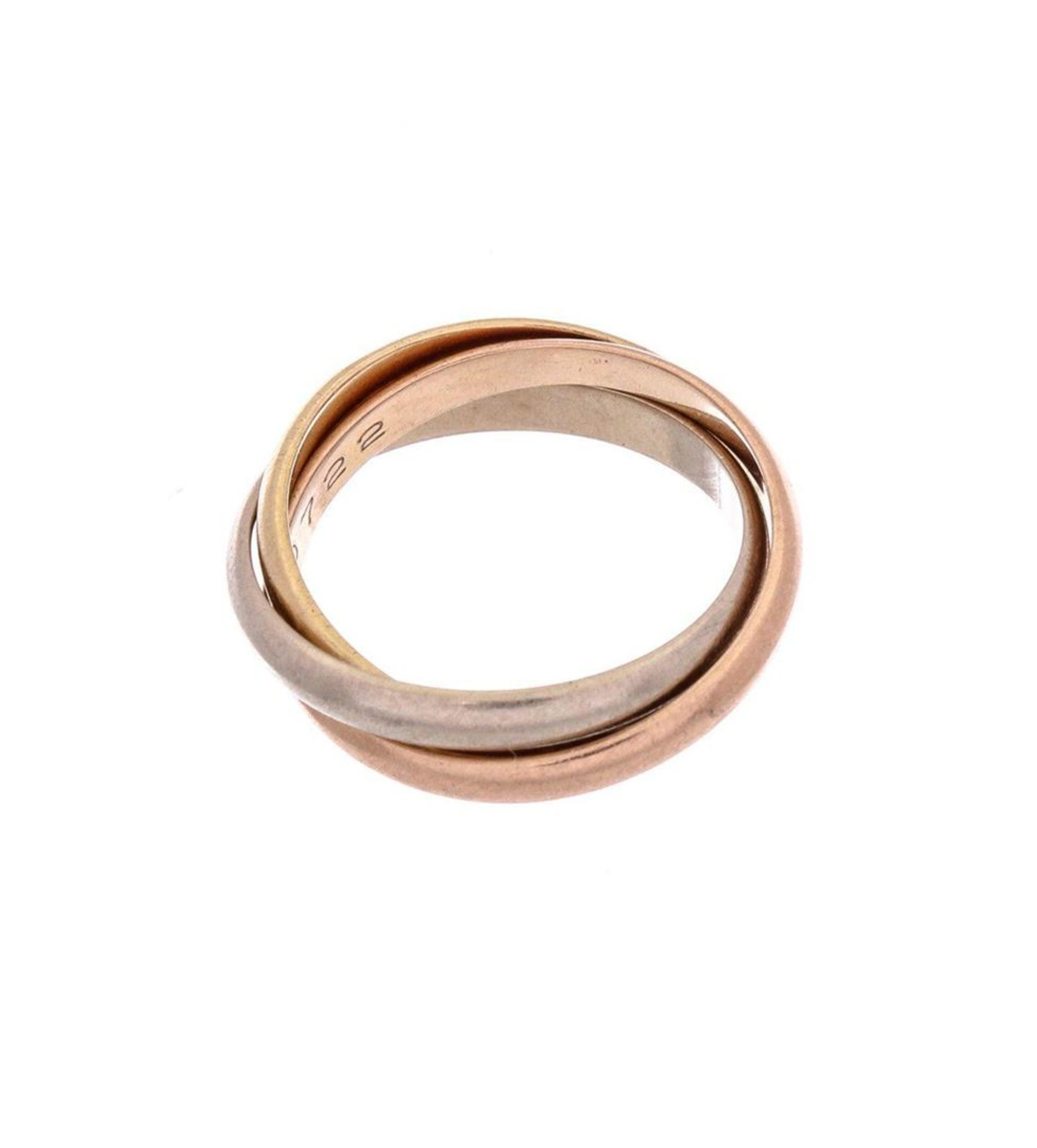 Cartier 18K Gold Extra Small Trinity Ring 49