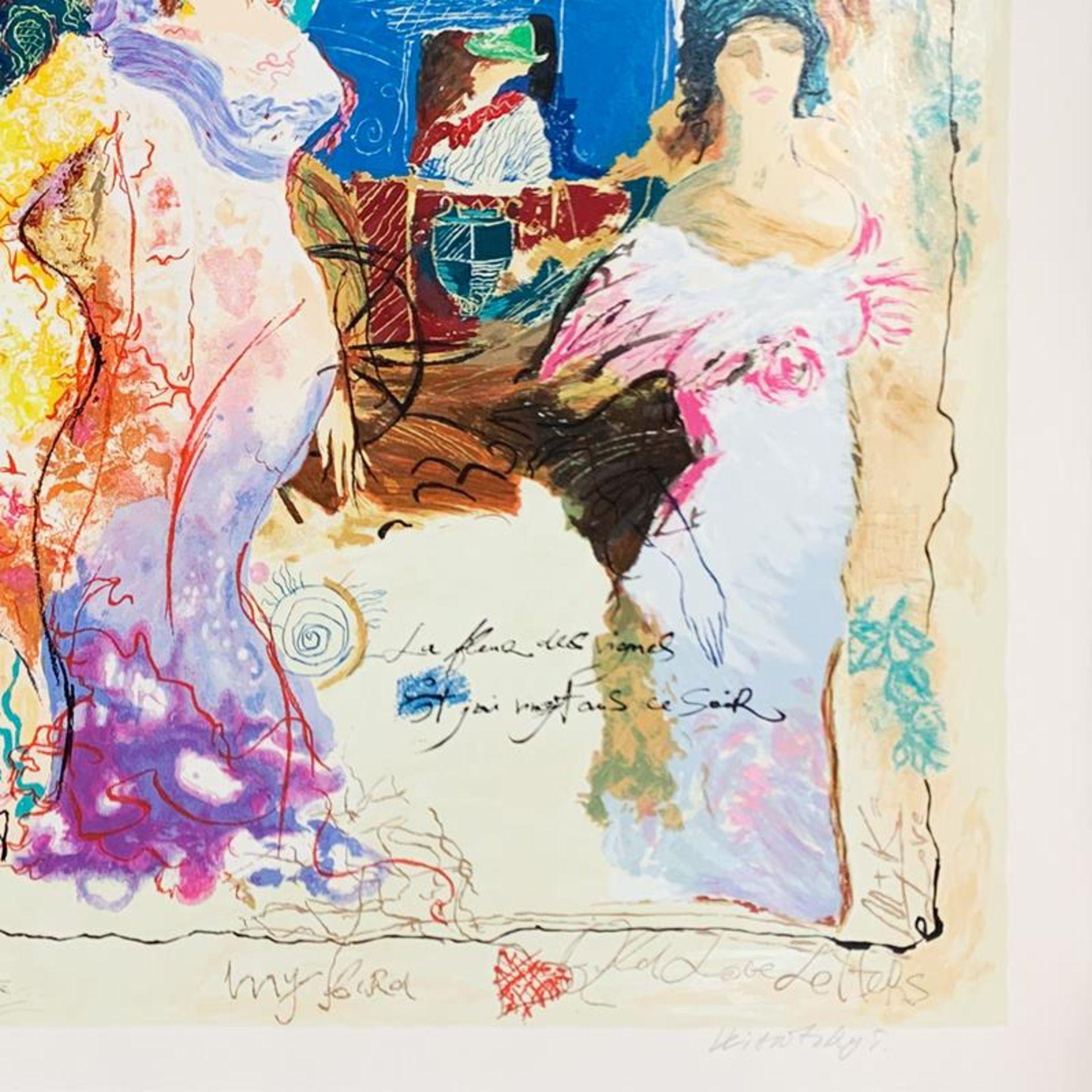 Alexander Galtchansky (1959-2008) and Tanya Wissotzky (1959-2006), Hand Signed L - Image 2 of 3