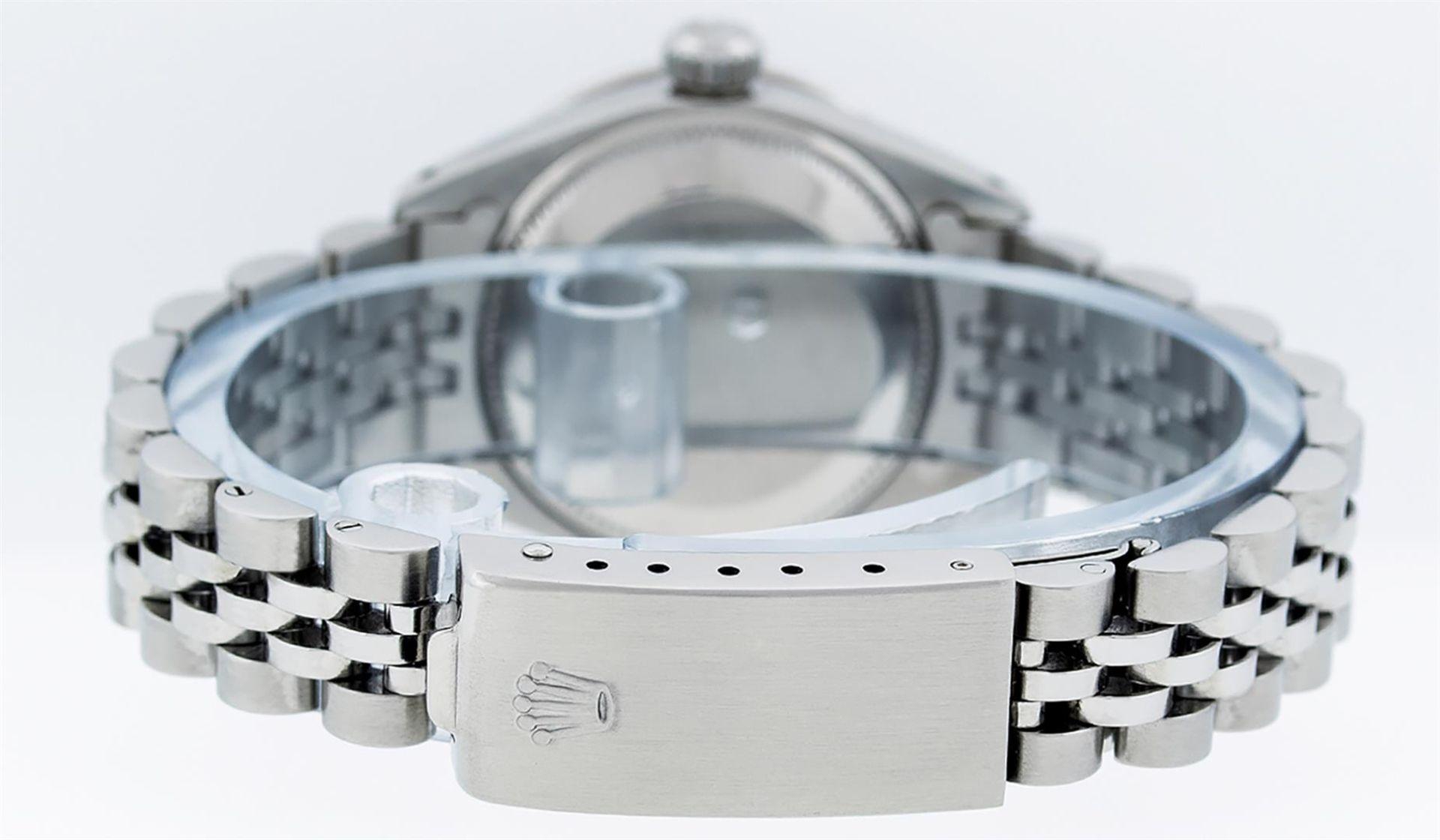 Rolex Ladies Stainless Steel MOP Diamond & Ruby 26MM Datejust Wristwatch - Image 5 of 9