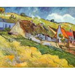 Van Gogh - Huts In Auvers