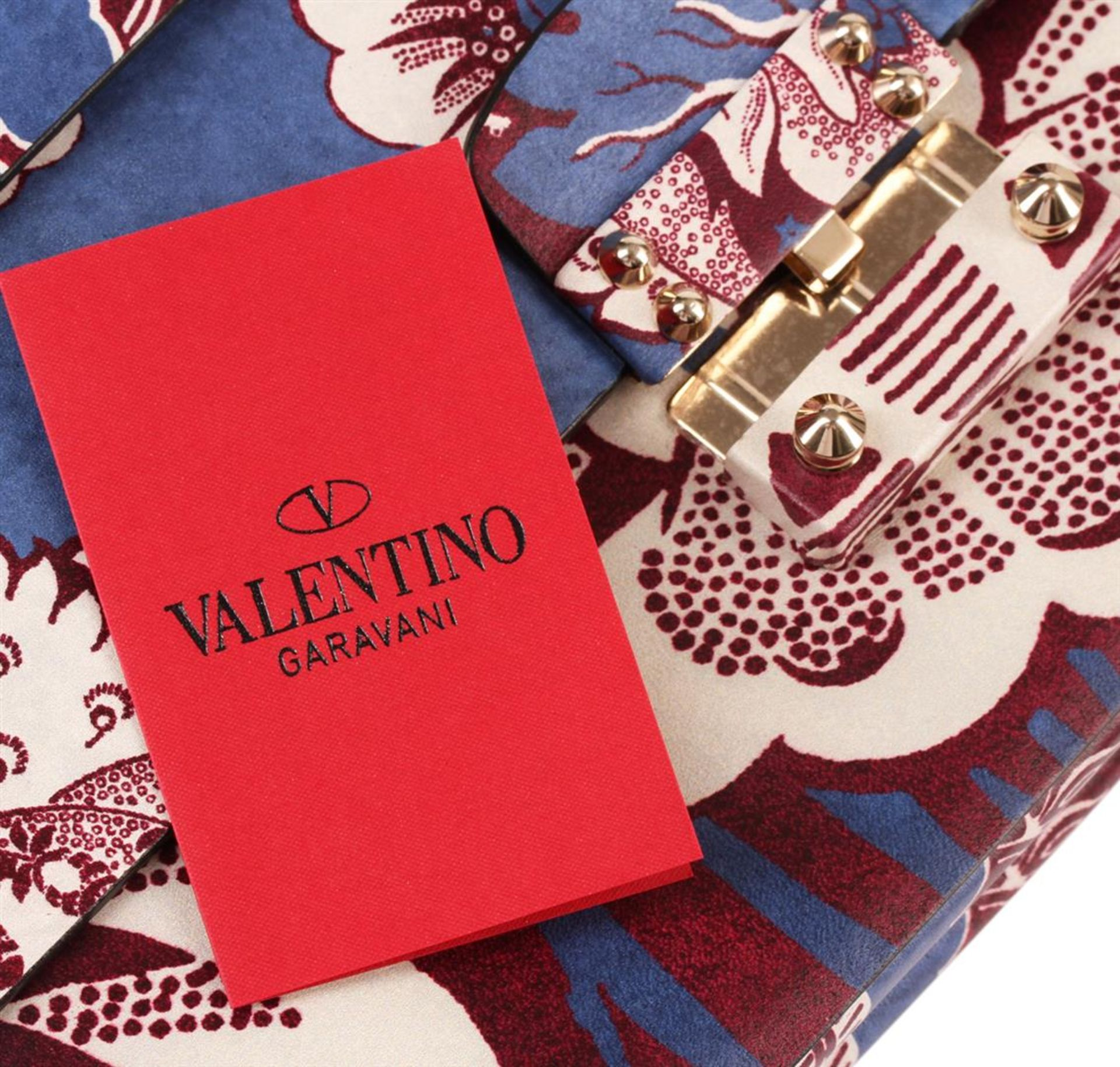 Valentino 2015 Floral Clutch - Image 5 of 5