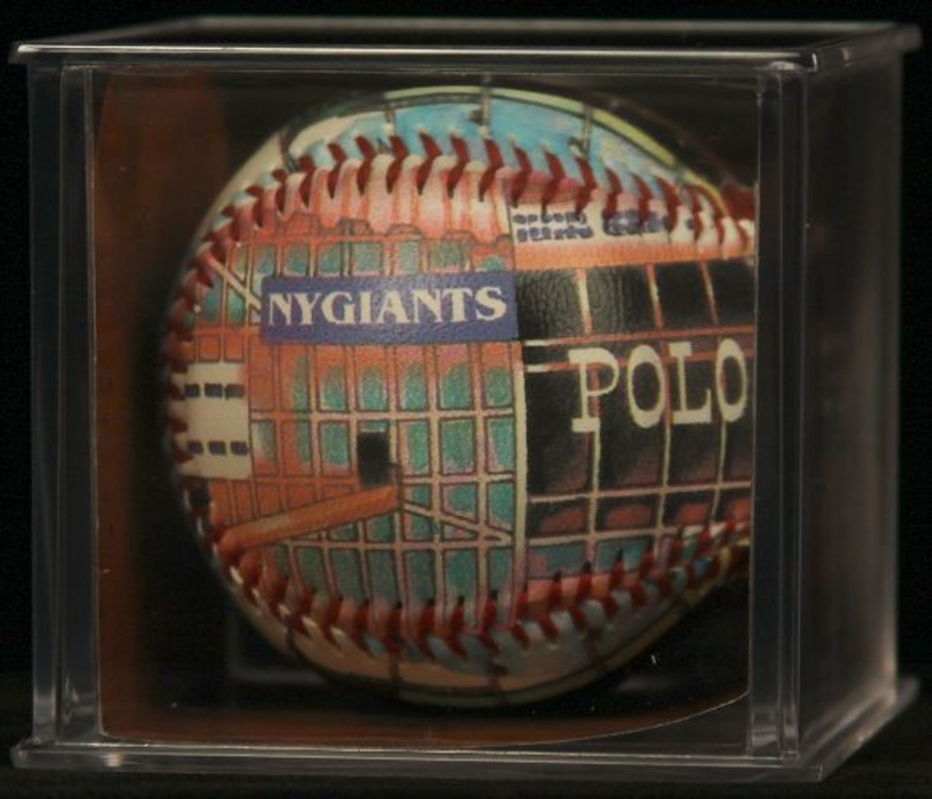 """Unforgettaball! """"Polo Grounds"""" Collectable Baseball - Image 2 of 4"""