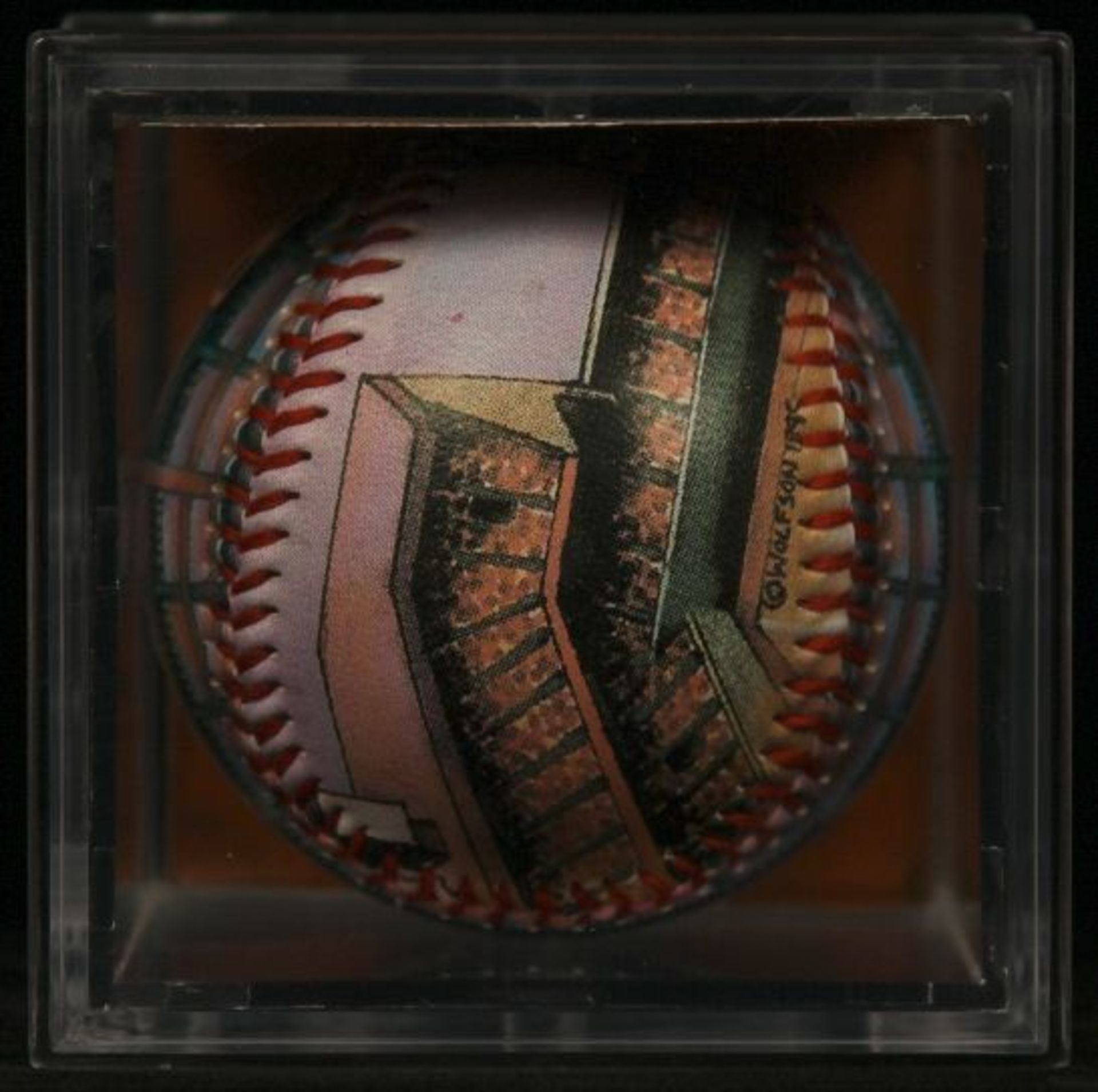 "Unforgettaball! ""Sportsman's Park"" Nostalgia Series Collectable Baseball - Image 4 of 4"