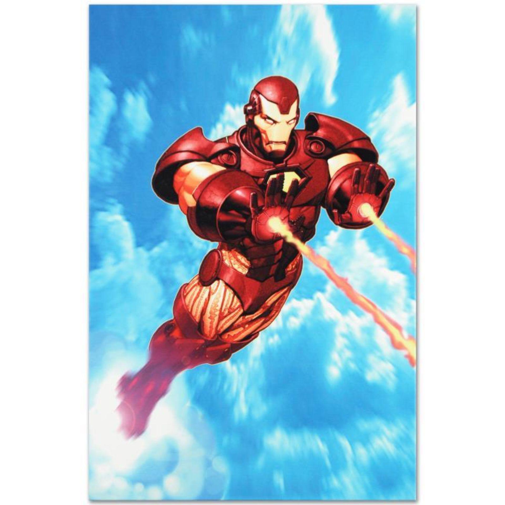 "Marvel Comics ""Iron Man: Iron Protocols #1"" Numbered Limited Edition Giclee on C"