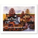 "Jane Wooster Scott, ""Textures of Autumn"" Hand Signed Limited Edition Lithograph"