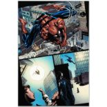 "Marvel Comics ""Amazing Spider-Man #526"" Numbered Limited Edition Giclee on Canva"