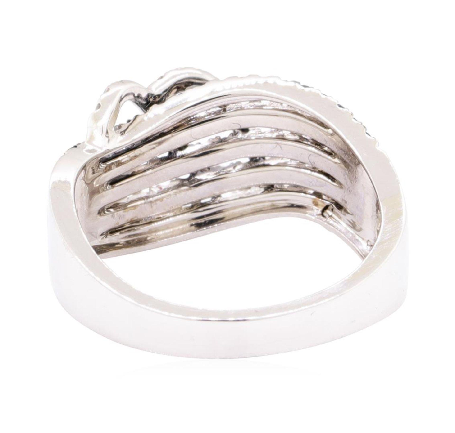 0.73 ctw Diamond Ring - 14KT White Gold - Image 3 of 5